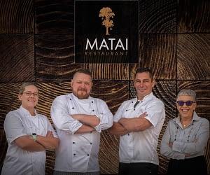 Ryan Gregorash and Team - Matai Restaurant - Regal Palms Resort Rotorua