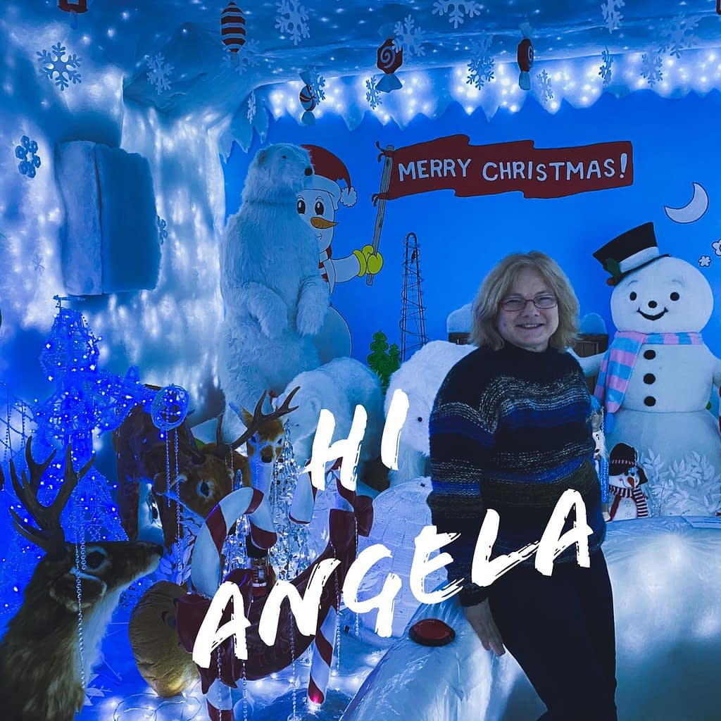 Say hi to Angela from Christmas Magic Makers