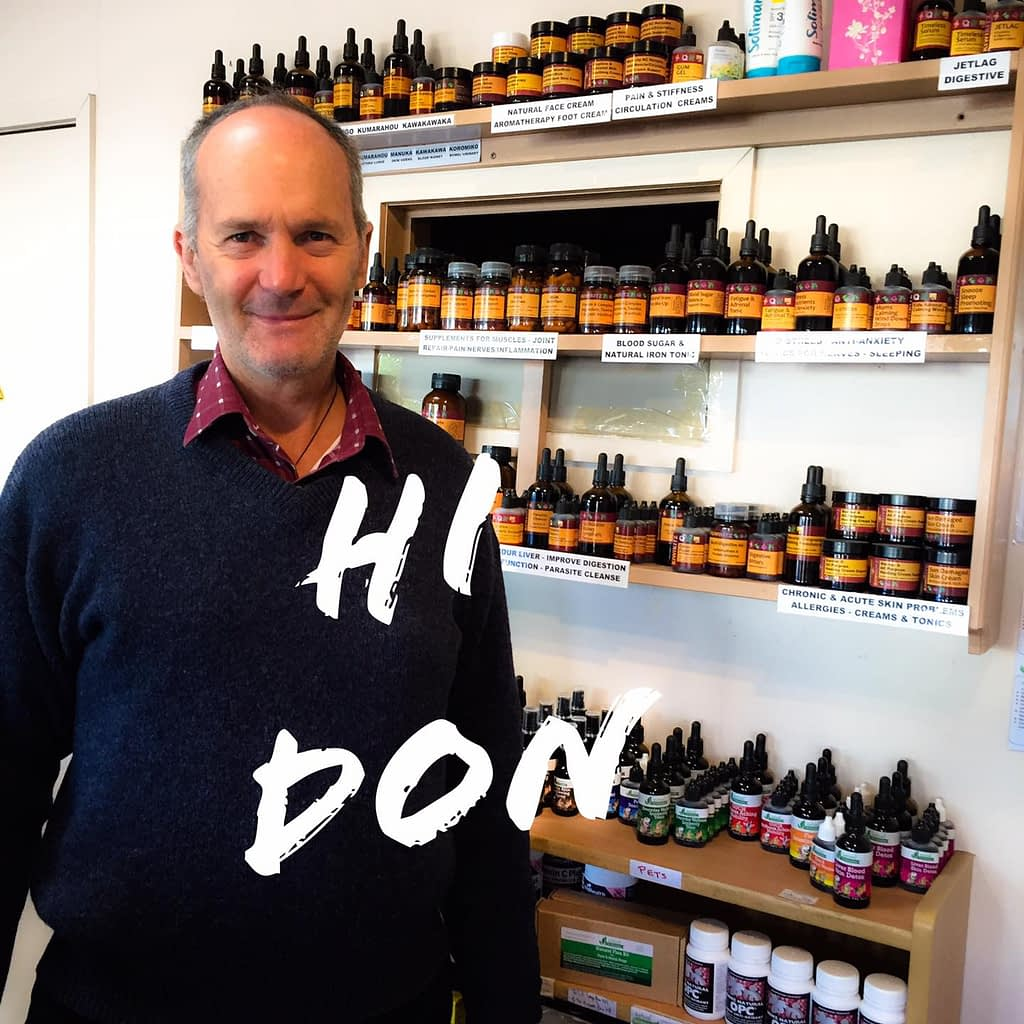 Theres a story behind Dons business Natural Therapies